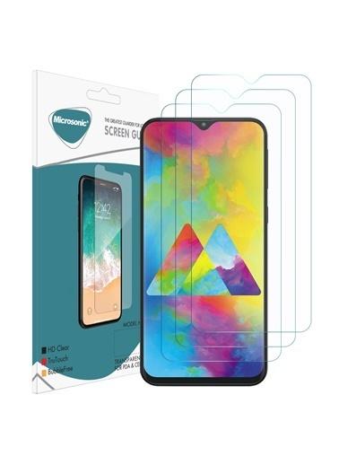 Microsonic Samsung Galaxy M20 Ekran Koruyucu Nano Cam (3'lü Paket) Renksiz